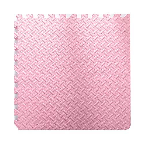 HLMIN Tapis Puzzle en Mousse PE Enfant De Ménage Chambre À Coucher Mou Mousse Non-Slip Anti-dérapant Rampant La Salle Yoga Tapis, 11 Couleurs, Combinaison Libre (Color : Pink, Size : 4PCS)