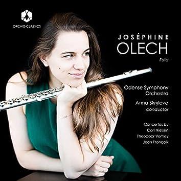 Nielsen, Verhey & Françaix: Flute Concertos