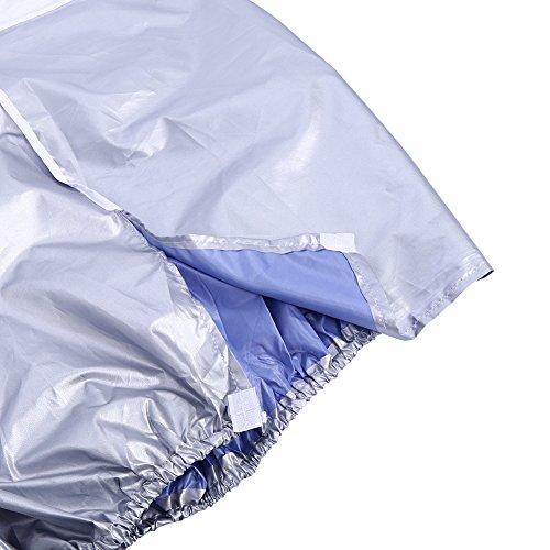 COHU Cubierta de Aire Acondicionado, Cubierta de Aire Acondicionado Anti-Nieve Cuadrada para el hogar para acondicionadores de Aire Unidad Exterior para Escuela de Hotel para Proteger el(2p)