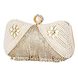 Aus Feinen Damen Luxus Diamant Niet Imitation Perle Party Abendkleid Tasche Brieftasche Hochzeit...