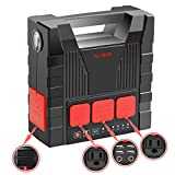 【PORTABLE POWER STATION 8 VARIOUS PORTS】: Portable generators for home use owns 220 Wh/64800 mah large capacity battery. Inverter generator special designed for charging phones,SLR, projector,drones, tablets, laptops, mini car refrigerator and and ev...