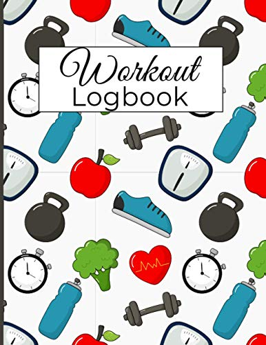 Workout Log book: Gym Diary & Fitness Journal And Planner Track Your Progress.