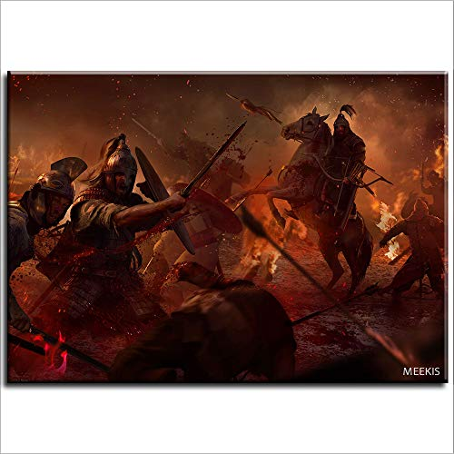 Prensa kit digital Attila Total War Attila Christmas 40X50 sobre lienzo (Sin Marco)