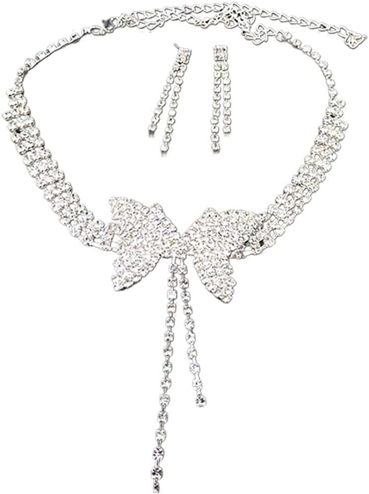 At the price Women's Earrings Women 67% OFF of fixed price Full Rhinestone Long St Pendant Butterfly