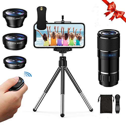 Vorida Phone Camera Lens, 6-in-1 Cell Phone...