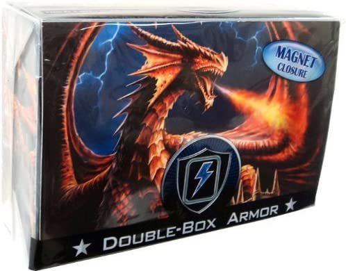 Max Protection Double Deck Box Magnetic Ranking TOP1 Finally resale start Dragon Fury - Closure Ar
