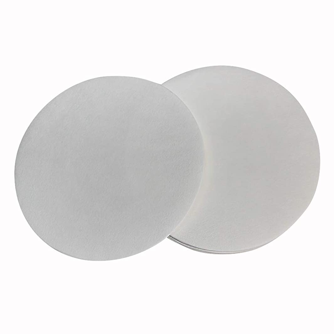 PZRT 1-Pack 11cm Qualitative Filter Paper Fast Speed Round Laboratory Filter Paper Chemical Analysis Industrial Oil Testing Funnel Filter Paper