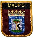 1000 Flaggen Madrid Spanien Schild Bestickt Patch Badge