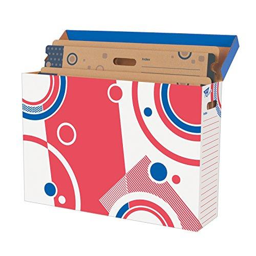 TREND enterprises, Inc. T-1020BN Bulletin Board Storage Box File 'n Save System, Pack of 2