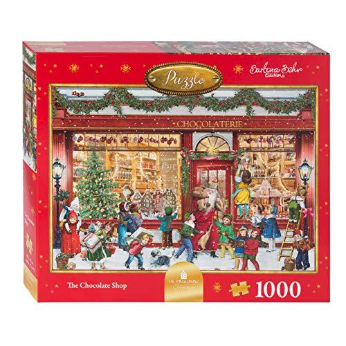 Coppenrath Das Schokoladen-Shop-Puzzle 1000 Stück