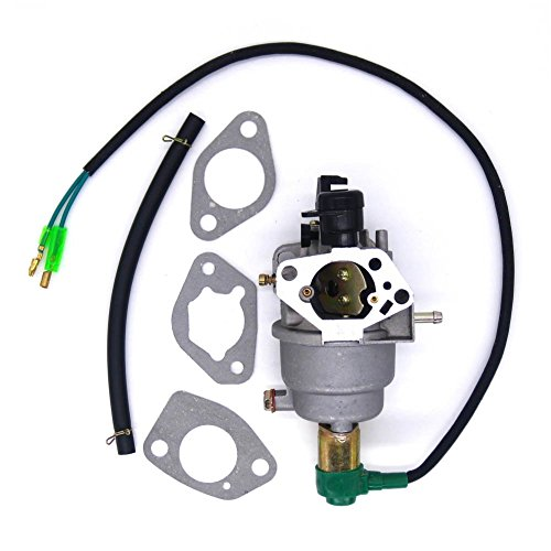 FitBest Carburetor w/Solenoid+Gaskets Fits Honda GX390 5KW 13HP Chinese 188F Generator Engine