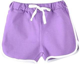 calidad y cantidad asegurada recoger vendible Amazon.es: Morado - Pantalones cortos / Niña: Ropa