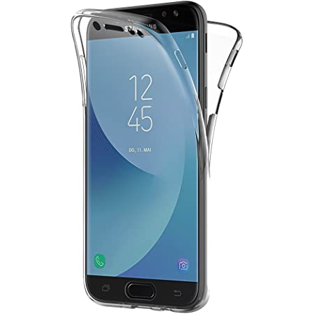 AICEK Coque Samsung Galaxy J5 2017, 360° Full Body Transparente Silicone Coque pour Samsung J5 2017 Housse Silicone Etui Case (5,2 Pouces SM-J530F)
