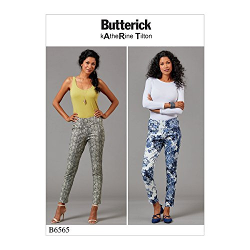 Butterick Patterns 6565 A5, patroon broek, maten 6-14, tissue, meerkleurig, 17 x 0,5 x 22 cm