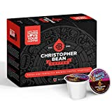 Jazzy Java Decaf Single Cup Christopher Bean Coffee Pods Capsules (18 Count) Compatible with Keurig 2.0 K-Cup Brewers