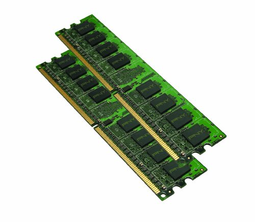 PNY Optima MD4096KD2-800 4GB (2x2GB) DDR2 800MHz PC2-6400 Desktop DIMM Arbeitsspeicher Dual Channel Kit