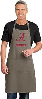 Broad Bay Alabama Grandpa Apron Large Mens Womens University of Alabama Grandpa Logo Gift Idea