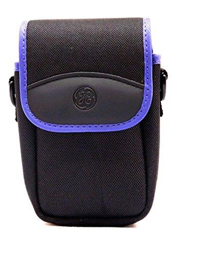Original GE Case & Neck strap for Digital Cameras Models X400 X450 X500 X550 X600 AND X2600 (PURPLE)
