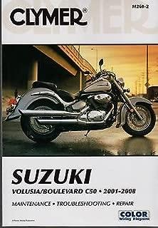 2001-2008 CLYMER SUZUKI VOLUSIA/BOULEVARD C50 SERVICE MANUAL NEW M260-2
