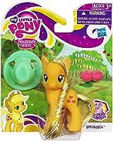 My Little Pony マイリトルポニー クリスタル エンパイアー フィギュア トモダチは魔法 The Crystal Empire (アップルジャック [オレンジ])