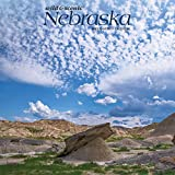 Nebraska Wild & Scenic 2021 12 x 12 Inch Monthly Square Wall Calendar, USA United States of America Midwest State Nature