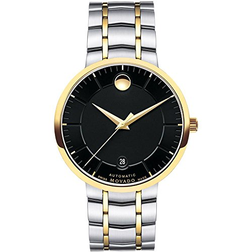 Movado Mens Analogue Classic Automatic Watch with Stainless Steel Strap...