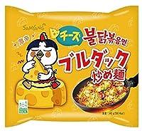 【三養】チーズブルダック炒め麺 (5食パック) 日本版 140g×5食入り