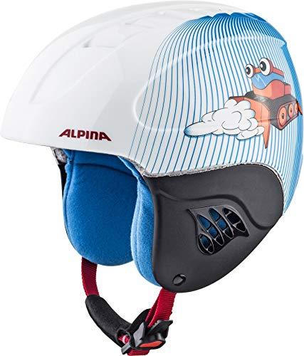ALPINA CARAT Skihelm, Kinder, snowcat, 51-55