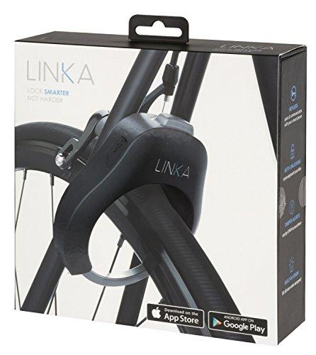 LINKA Original Smart Bike Lock - Black Art