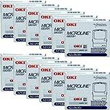Genuine OEM brand name OKIDATA Black Print RIBBON for MICROLINE 590/591 (12/BOX) 52106001