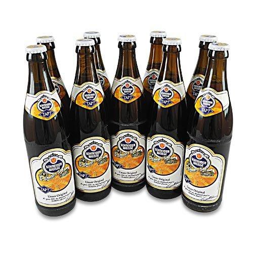 Schneider Weisse - Hefe-Weizenbier (TAP 7/9 Flaschen à 0,5 l / 5,4% vol.)