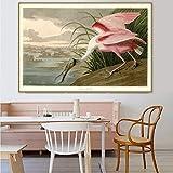 PLjVU Famoso Artista Maestro Lienzo Pintura Cartel impresión para decoración de Pared de habitación Arte de Pared-Sin marco30x45cm