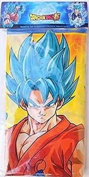 Dragon Ball Asian Boy Party Tablecover Decoration Birthday Tablecloth Partyware Supplies Blue