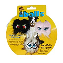 Unique one-of-a-kind toy Great for small dogs Core is a tough and durable ball Great for a game of fetch or just letting your dog entertain himself Always monitor your dog when playing with any toy