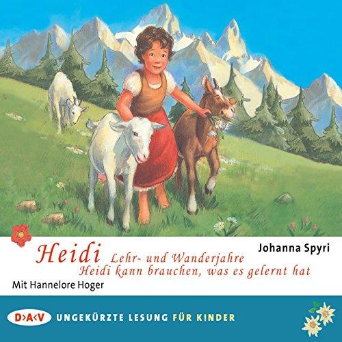 Heidi - Lehr- und Wanderjahre / Heidi kann brauchen, was es gelernt hat Titelbild
