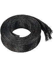 LOKIH Cable,Mangas Trenzadas Utilizado En Cables De Alimentación De Computadora, Cables De Audio Y Video,3mmx100m