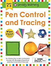 Wipe Clean Workbook. Pen Control And Tracing (Priddy Learning)