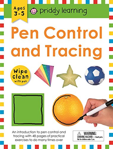 Wipe Clean Workbook: Pen Control and Tracing (Wipe Clean Learning Books)