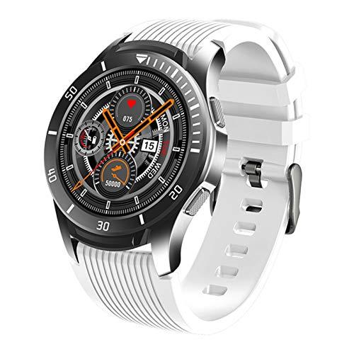 ZWW GT106 Smart Watch Men's Bluetooth Bluetooth Impermeable Presión Arterial Monitor De Sueño Smartwatch Recordatorio Reloj Fitness Watch,A