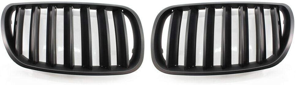 Ancher Limited time cheap sale Matte Black Front Center Bumper Regular dealer Kidney Grill Grille Fit f