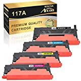 Arcon Hewlett-Packard - Cartucho de tóner compatible con HP 117A W2070A W2071A W2072A W2073A (con chip) tóner HP Color Laser MFP 179fwg MFP 178nwg HP Color Laser 150a HP 150nw MFP 179fnw MFP 178nw
