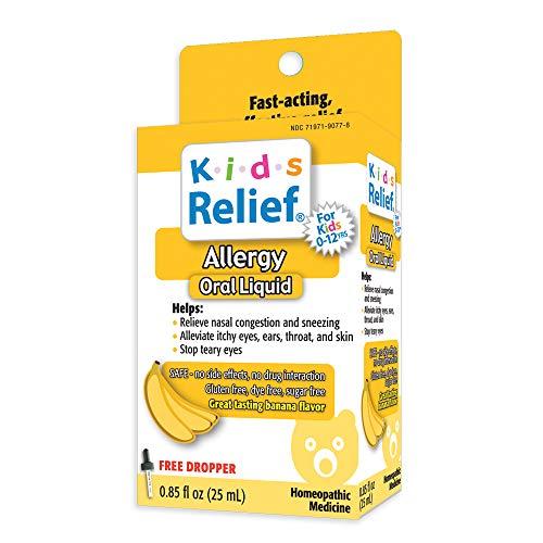 Kids Relief Allergy Oral Solution, 0.85 Fluid Ounce (25 ml)