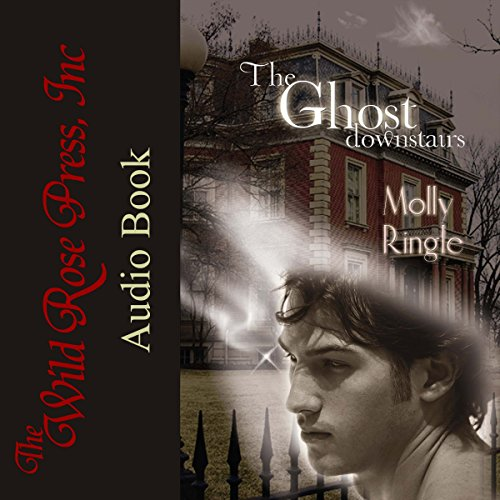 The Ghost Downstairs audiobook cover art
