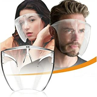 フェイスシールド フェースガードpro メガネ 透明 簡易包装 MASK フェイスマスク 飛沫対策 ふつうサイズ 大人 男女兼用 飲食店 接客業