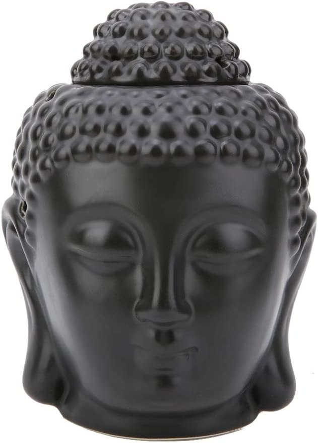 Tealight Candle Holder Oil Burner Detroit Mall Outstanding Buddha Shaped Essential Head