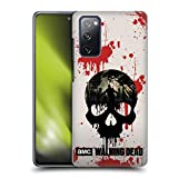Head Case Designs Officially Licensed AMC The Walking Dead Skull Silhouettes Hard Back Case Compatible with Samsung Galaxy S20 FE / 5G