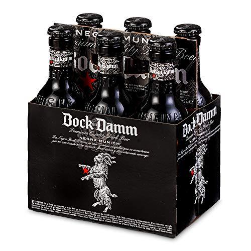 Damm Cerveza Negra Bock, 6 uds