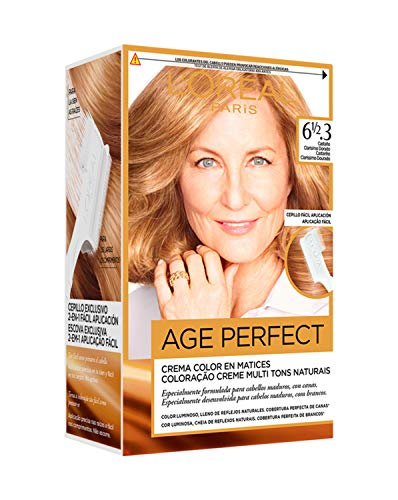 L'Oréal Paris Age Perfect Coloración permanente, Tono: 61/2.3