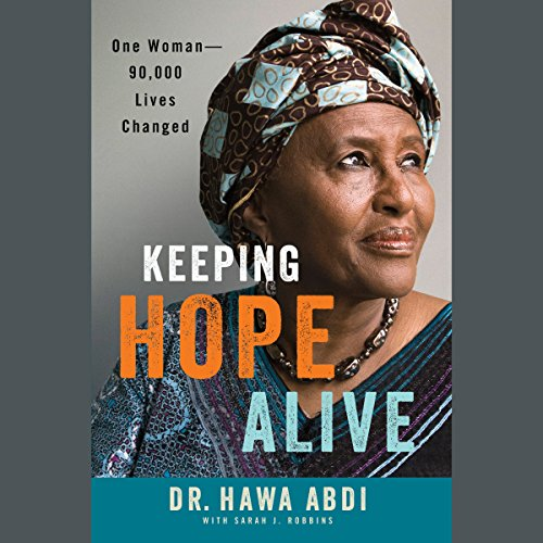 Keeping Hope Alive audiobook cover art