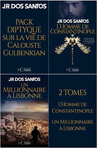 Pack JR Dos Santos - Diptyque Gulbenkian 2 tomes